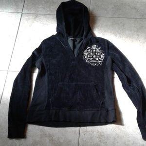 BCBG MaxAzria Velour Pullover S